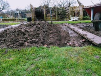 Double Digging allotment