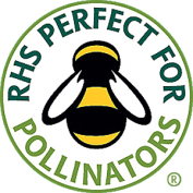 How to help the bees | RHS Perfect for Pollinators symbol