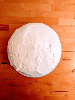 King carrot cake with Philadelphia cream cheese icing