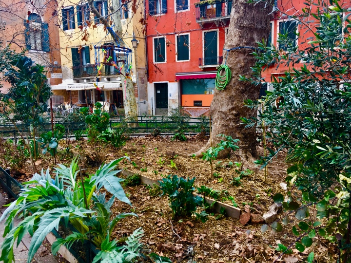 Venice's Gardens and Green Space