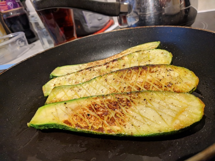 Pan Fried Zucchini